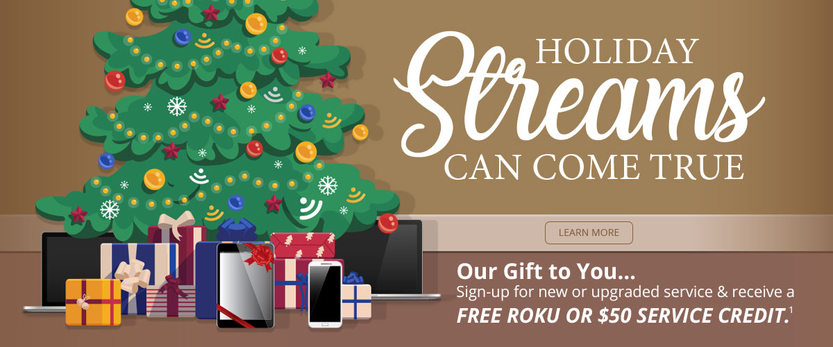 Make Your Holiday Streams Come True!
